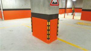 Parking Column Painting